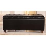 NOYA USA Classic Storage Bench; Black