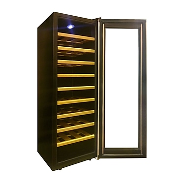 Homeimage 30 Bottle Single Zone Freestanding Wine Refrigerator