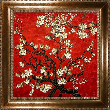 Tori Home Branches of an Almond Tree in Blossom by Vincent Van Gogh Framed painting