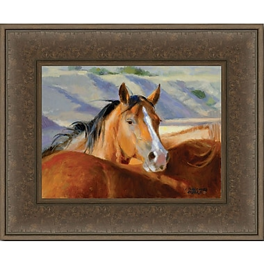 HadleyHouseCo Ranch Bred by Sherry Blanchard Stuart Framed Painting Print