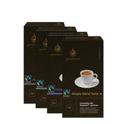 Gourmesso Coffee, Mini Forte Bundle, 80 Nespresso compatible capsules
