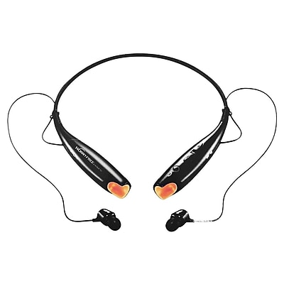 MYEPADS HEADSET -BLACK Bluetooth Stereo Behind-the-Neck Headset,