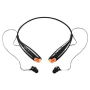 MYEPADS HEADSET -BLACK Bluetooth Stereo Behind-the-Neck Headset, Black