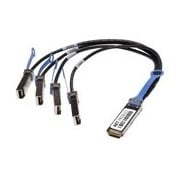 Netpatibles QSFP-4SFP10G-CU1M-NP 3.28' QSFP/SFP+ Breakout Cable