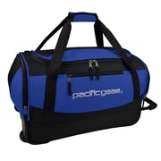 "Pacific Gear Gala 20"" Carry-On Rolling Duffel Bag, Blue"