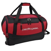 "Pacific Gear Gala 20"" Carry-On Rolling Duffel Bag, Red"