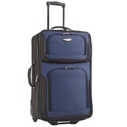 "Travel Select Amsterdam 25"" Expandable Rolling Upright in Navy"