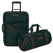 U.S. Traveler Hillstar 2-Piece Casual Luggage Set, Forest