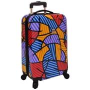 """U.S. Traveler 20"""" Fashion Multi-Pattern Hardsided Spinner Luggage"""