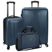 U.S Traveler Hytop 3-Piece Spinner Luggage Set