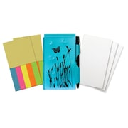 "Wellspring Butterfly Flip Note and refills 2 3/4"" x 4 3/8"" Blue (63103)"