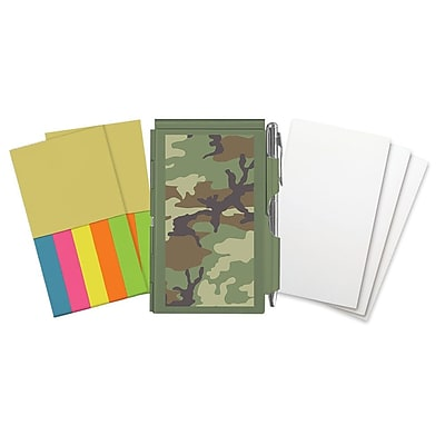 Wellspring Camouflage Flip Note and refills 2 3/4