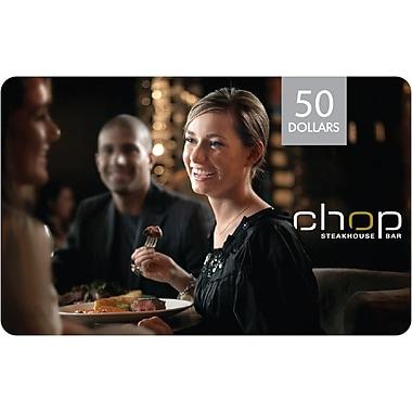 Chop – Carte-cadeau de 50 $