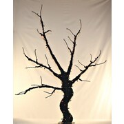 Queens of Christmas 6' Base Lit Halloween Tree Decoration