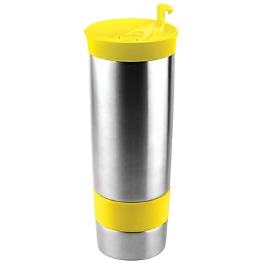 AdNArt The Hot Press Coffee Maker; Sunny Day Yellow