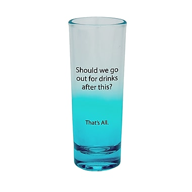 That's All. Out For Drinks Shot Glass (Set of 4)