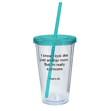 That's All. Look Like Another Mom But I'm A Queen Acrylic Tumbler