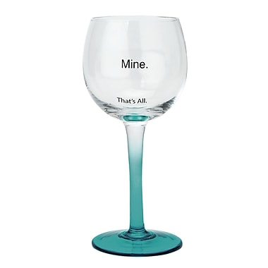That's All. Mine Wine Glass (Set of 2)
