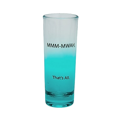 That's All. Mmm-Mwah Shot Glass (Set of 4)