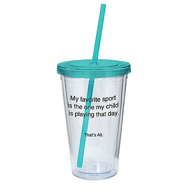 That's All. My Favorite Sport Acrylic Tumbler
