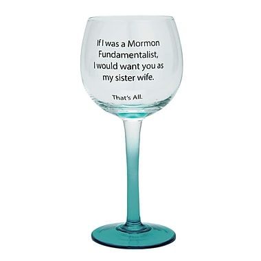 That's All. Sister Wife Wine Glass (Set of 2)
