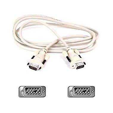 Belkin F2N028B10 10' VGA Cable, Black