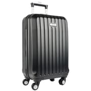 Kenneth Cole – Bagage de cabine Reaction Departure Point extensible 20 po, roulettes pivotantes, noir