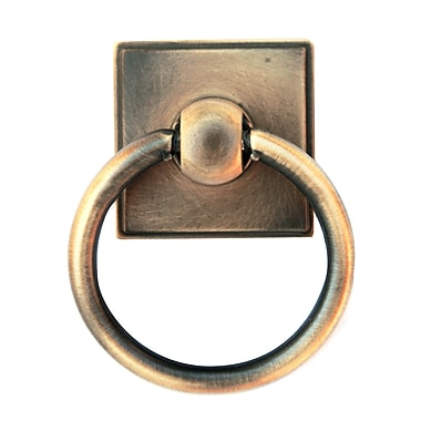Alno Eclectic Ring Pull; Antique English Matte