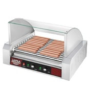 Great Northern Popcorn Commercial 11 Roller Grilling Machine w/ Cover
