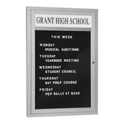 Salsbury Industries Marquee Wall Mounted Letter Board, 3' H x 2' W