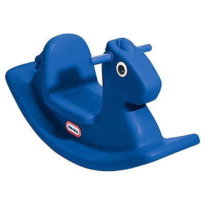 Little Tikes Rocking Horse in Primary Blue WYF078276029965