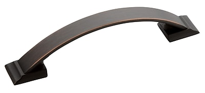 Amerock Candler Arch Pull; Oil Rubbed Bronze