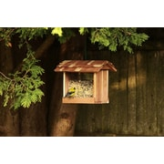 Woodlore Cedar Hopper Bird Feeder