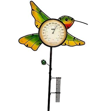 SunTime Outdoor Living Hummingbird Garden Stake