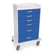 TrippNT 5 Caster Procedure Storage Cart; Global Blue