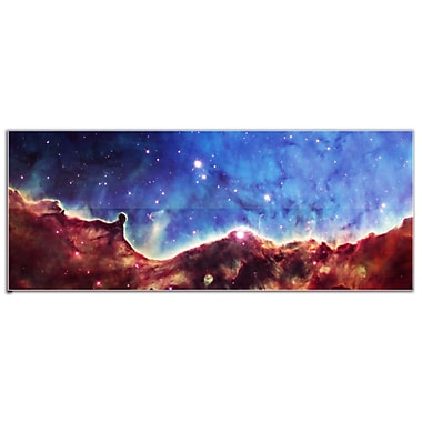Metal Art Studio Outer Space Celestial Landscape Graphic Art Plaque