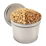 Gourmet Gift Basket King's Kettle Blend Popcorn Tin 2 Gallon