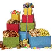 Gourmet Gift Basket Festive Favorites Gourmet Gift Tower 3LB