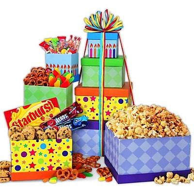 Gourmet Gift Basket Happy Birthday Gourmet Tower