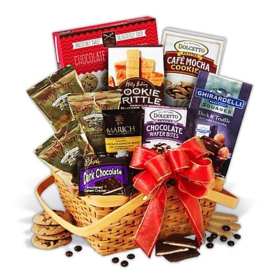 Gourmet Gift Basket Coffee & Chocolates Gift