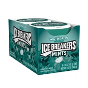 ICE BREAKERS Sugar Free Mints in Wintergreen, 1.5 oz, 8 Count