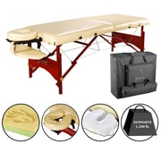 "Master Massage Portable Massage Table, 28"", Cream (18200)"