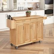 "Home Styles 54"" Asian Hardwood Benton Kitchen Cart"
