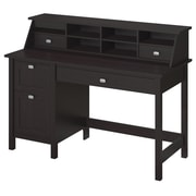 Bush Furniture Broadview Collection Single Pedestal Desk and Organizer
