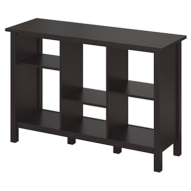 Bush Furniture Broadview Collection 6 Cube Bookcase, Espresso Oak