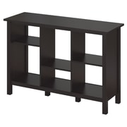Bush Furniture Broadview 6 Cube Bookcase, Espresso Oak (BDB145EO-03)