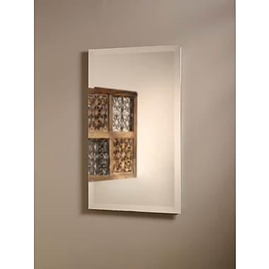 Jensen Perfect Square 16'' x 26'' Recessed Medicine Cabinet