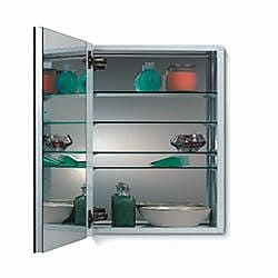 Jensen Metro 15'' x 35'' Recessed or Surface Mount Medicine Cabinet