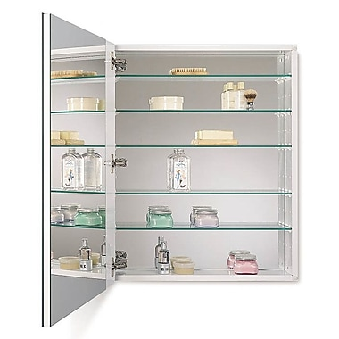 Jensen Metro 24'' x 30'' Recessed or Surface Mount Medicine Cabinet