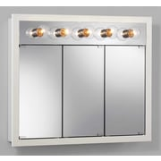 Jensen 36'' x 30'' Surface Mount Medicine Cabinet; White